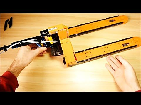 Lego Technic Tutorial How To Make Mechanic Jack Youtube Lego