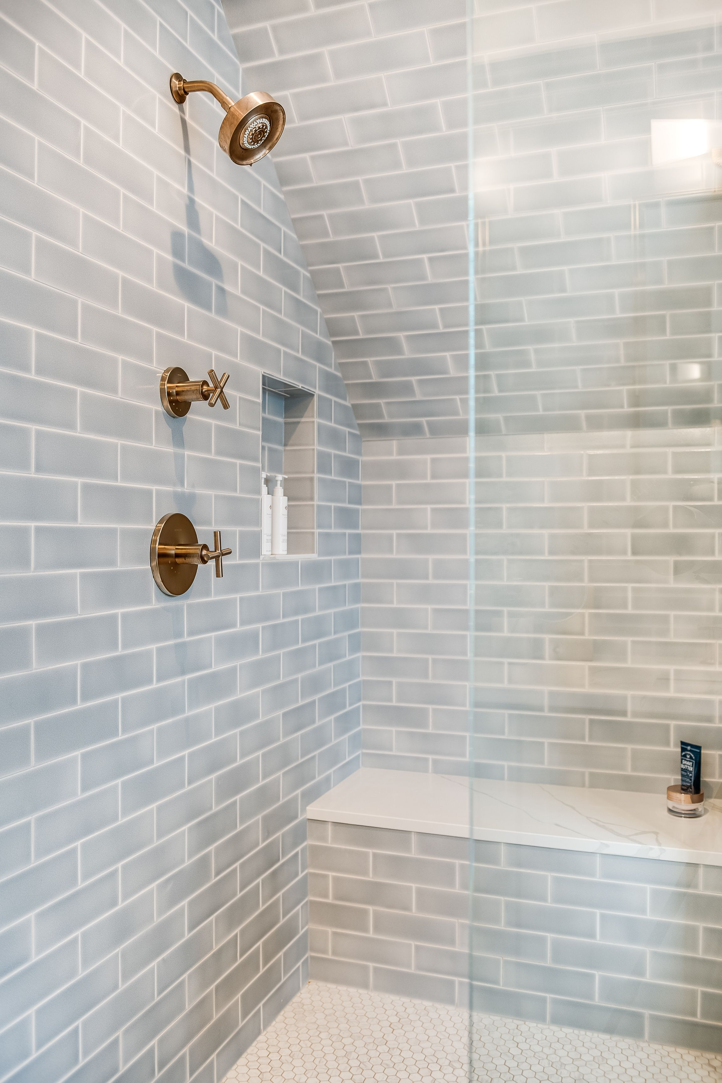 Tile School Bathroom Wall Tile Height How High Should You Go Bathroom Wall Tile Bathroom Floor Tiles Bathrooms Remodel