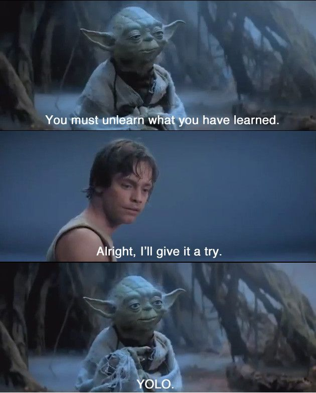 Movie Quotes Star Wars: Replacing Movies Quotes With YOLO