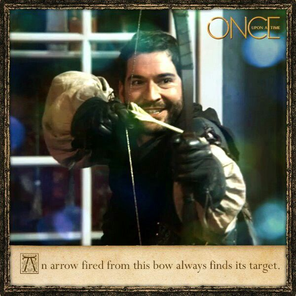 Lucifer Once Upon A Time: Robin Hood. I Got Immensely Excited When I Saw Tom Ellis