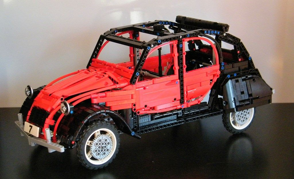 pin by fred kuperus on 2 cv miniatuur pinterest lego lego vehicles and lego technic. Black Bedroom Furniture Sets. Home Design Ideas