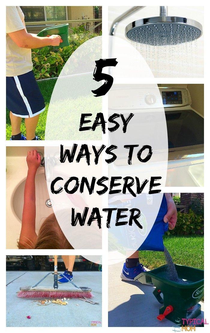 Ways To Conserve Water Ways To Conserve Water Water