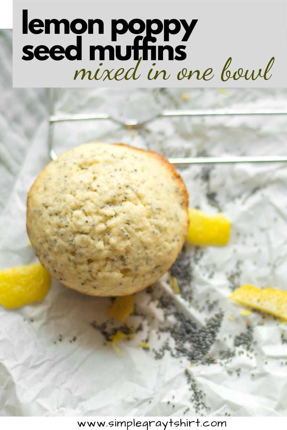 must have lemon poppy seed muffins! Lemon poppyseed muffins make a great addition to any breakfast