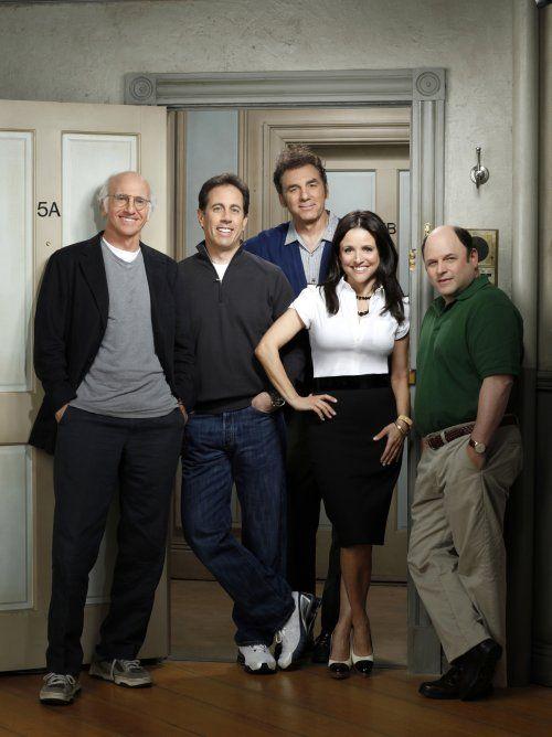 Seinfeld cast & co-creator Larry David
