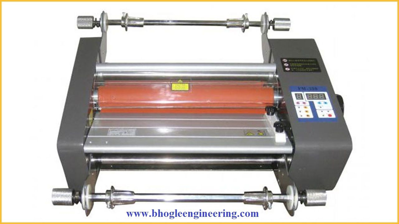 Bhogle Engineering Manufacturing Is A Laminating Machine Manufacturer If You Are Looking For A Lamination Machines Then You H Manufacturing Machine Two By Two