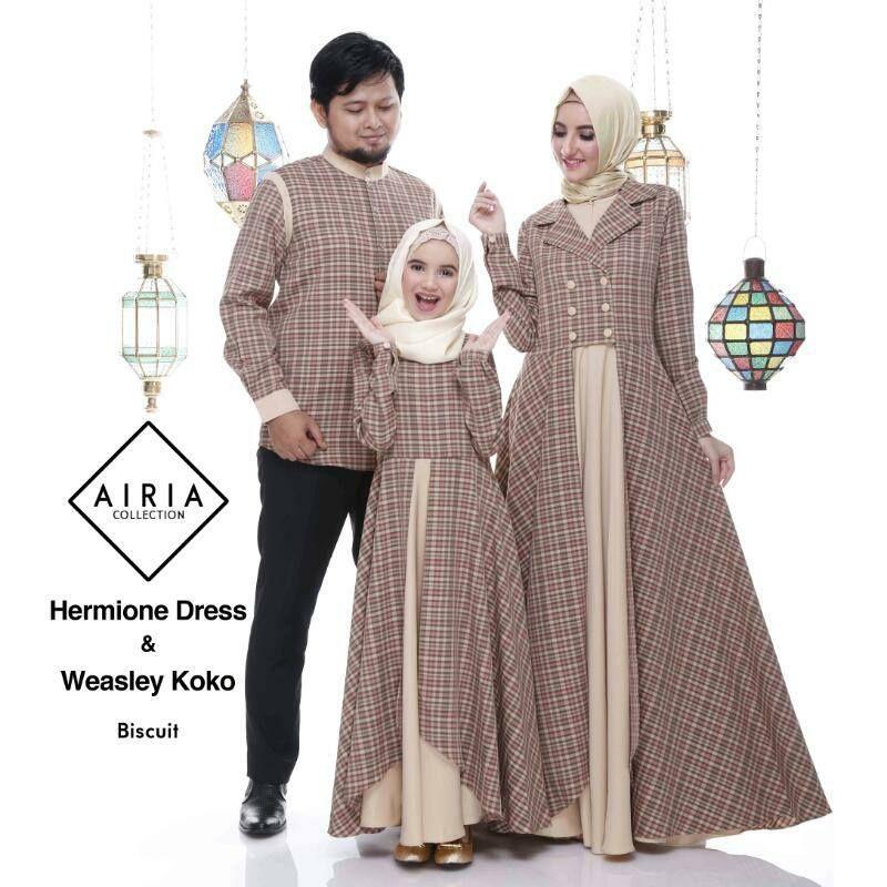 Model Baju Muslim Keluarga Untuk Lebaran Di 2020 Dengan Gambar