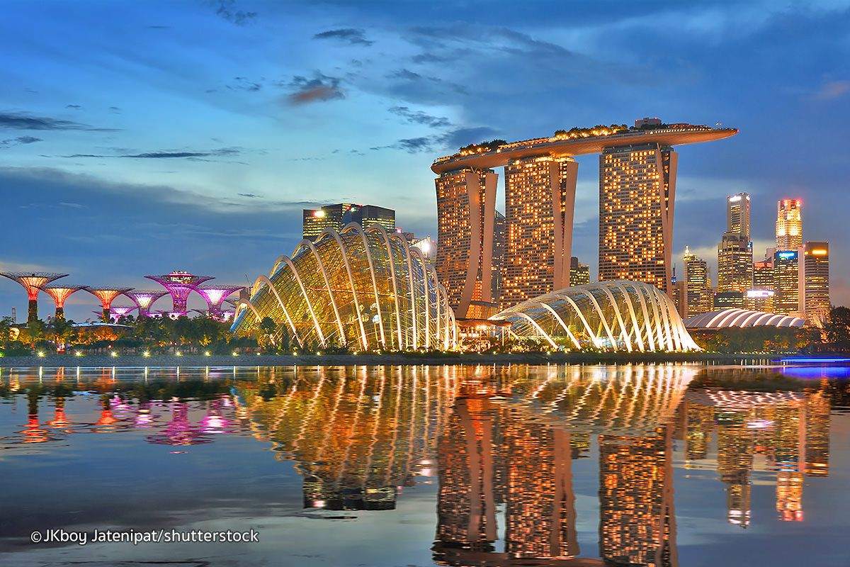 Marina Bay | Singapore | Singapore's famed Marina Bay is ...