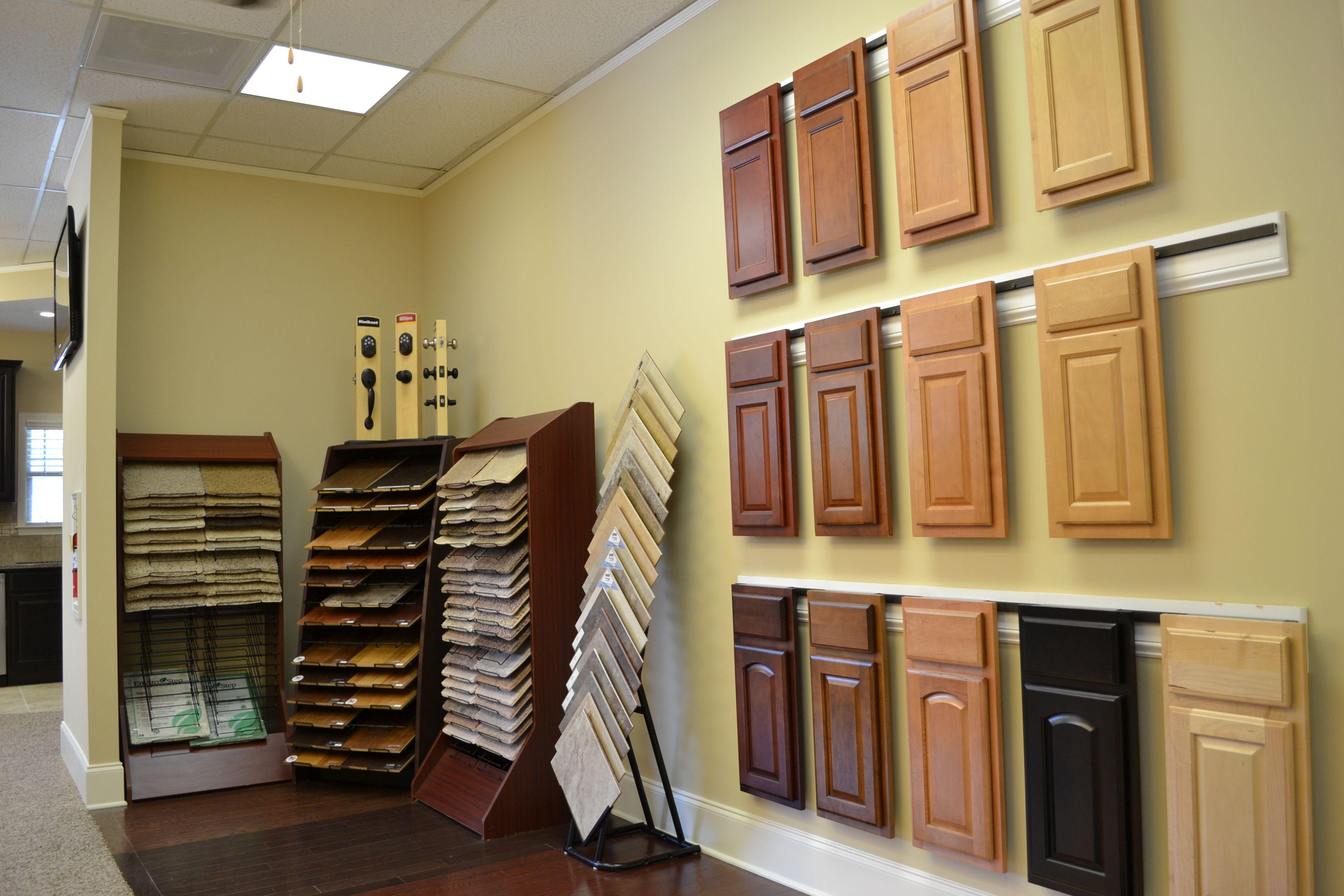 Come And Visit Our New Showroom At 2301 Airport Thruway In Columbus Ga Www Grayhawkhomesinc Com Cabinet Door Styles Cabinet Doors Showroom Design
