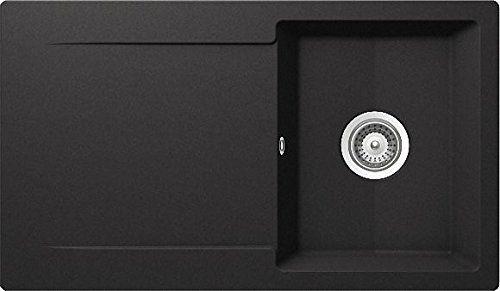 ifttt 1Zgu3RL Schock Epure D-100 A Nero Granit-Spüle - spülbecken küche granit