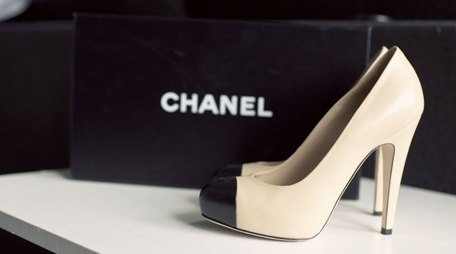 I Am Style Ish Shoe Collection Classic Chanel Shoe From Cute Blogger