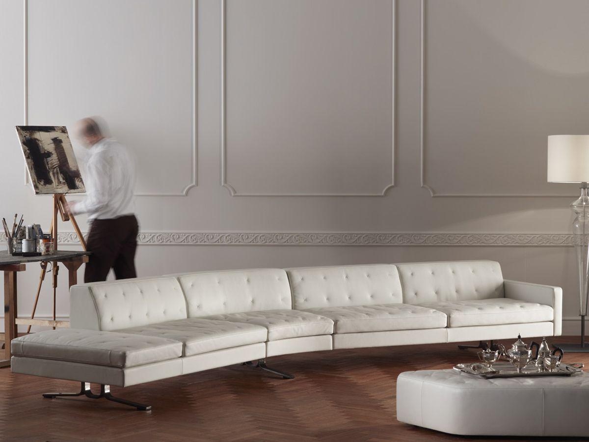Poltrona Frau Kennedee Curved Sofa Sofa Design Sectional Sofa