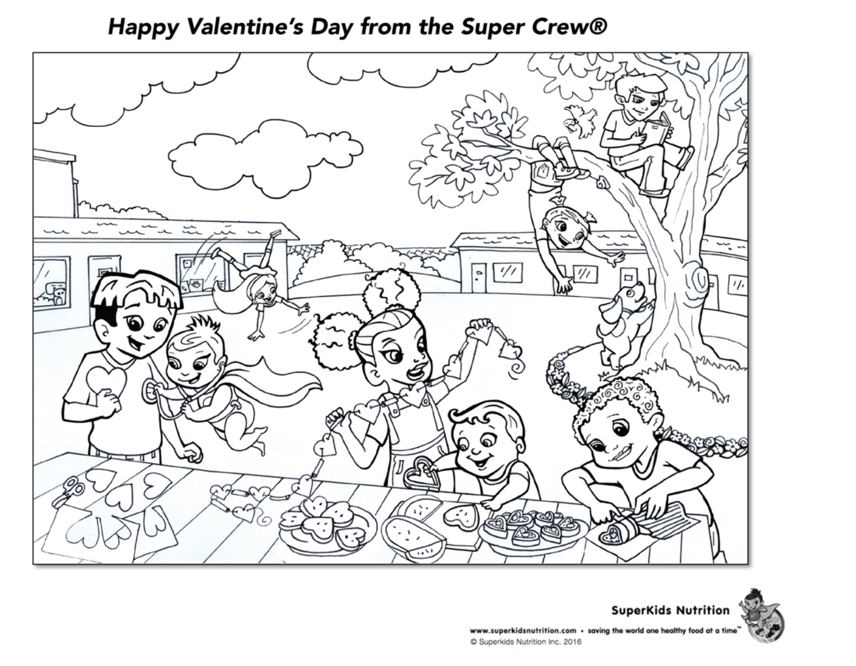 Super Crew Coloring Pages