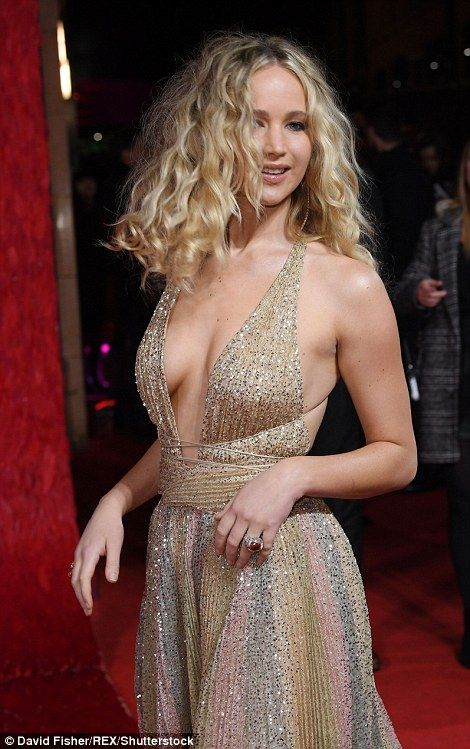 Jennifer Lawrence Attends Red Sparrow Premiere In London