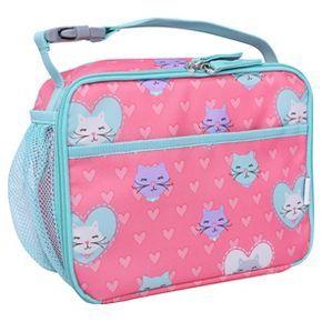 Crckt Kitty Lunch Box Pink Blue