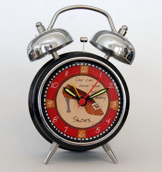 Shoes Retro Alarm Clock Retro Alarm Clock Alarm Clock Clock