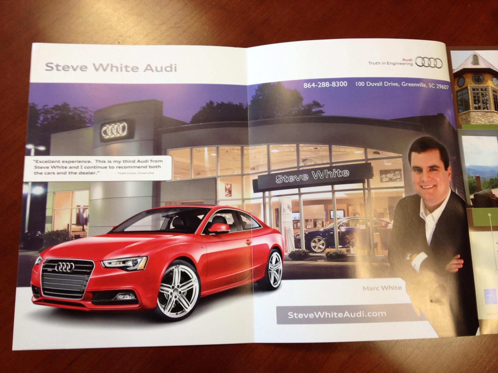 Steve White Vw >> Talk Magazine Cover Spread For Steve White Audi Vw Joes