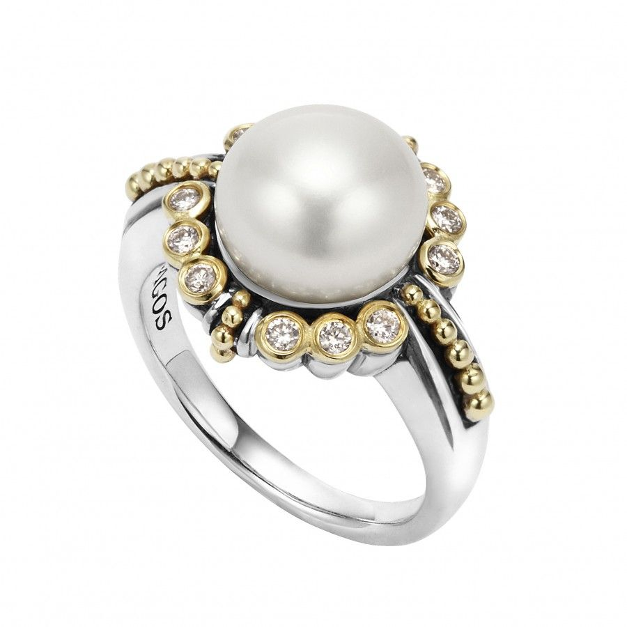 ring vert and pearl trumpet engagement rings horn martha weddings pretty diamond stewart