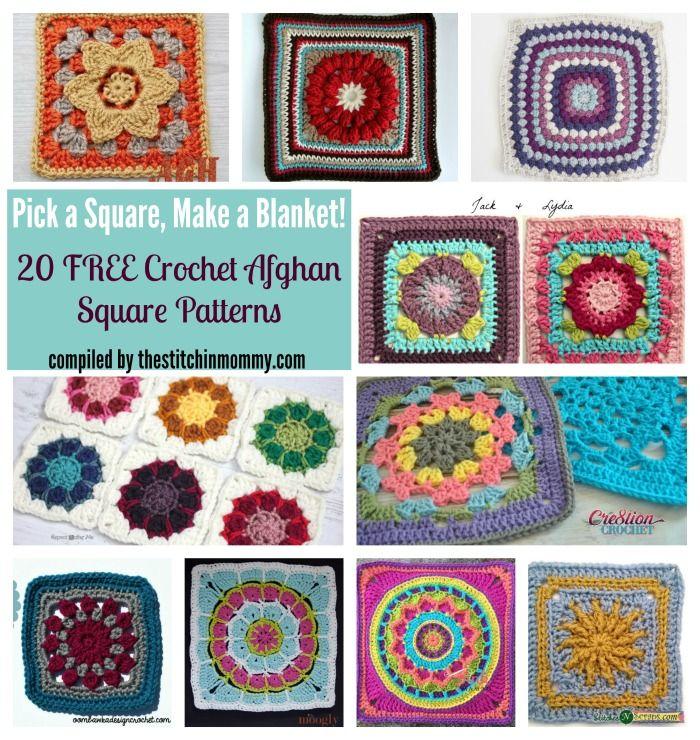 Hermosa Crochet Patrones Afganos Patrón - Manta de Tejer Patrón de ...