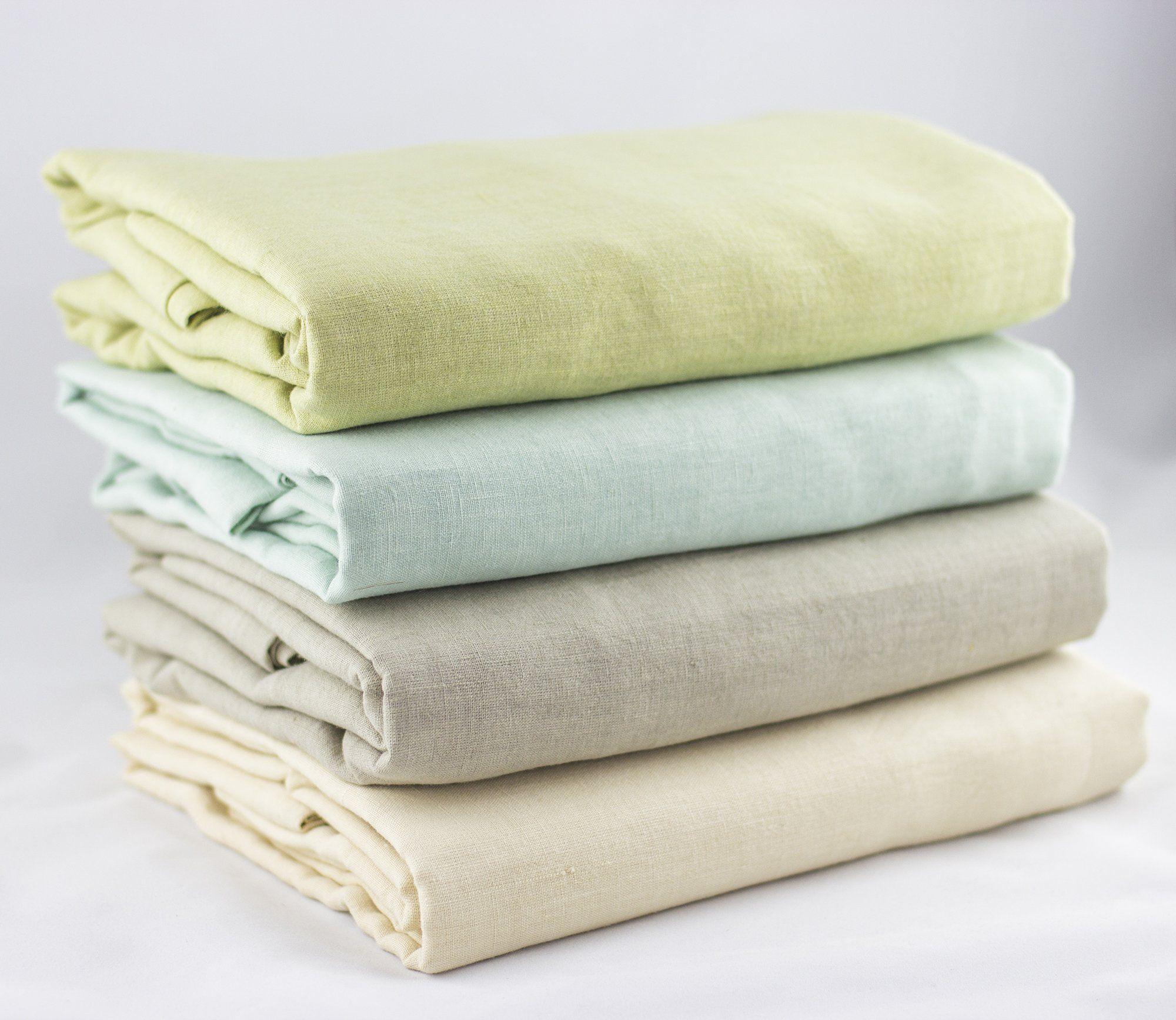 Hemp Shower Curtain Natural Antibacterial Eco Friendly