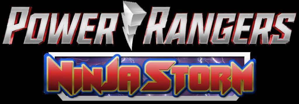 Power Rangers Ninja Storm Hasbro Style Logo By Bilico86 Power Rangers Power Rangers Ninja Storm Power Rangers Logo