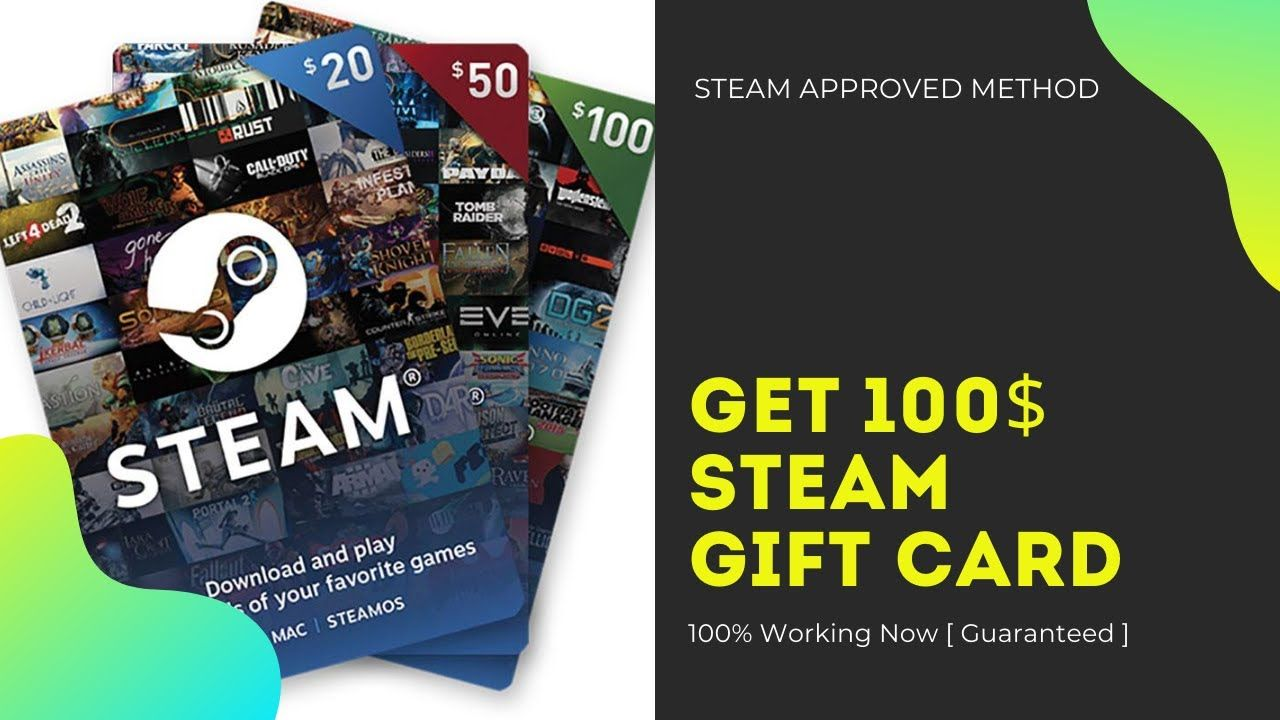 Free steam gift cards steam gift card how to get