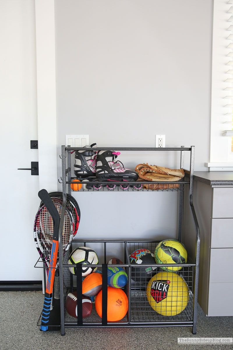 Organized Sports Equipment The Sunny Side Up Blog in