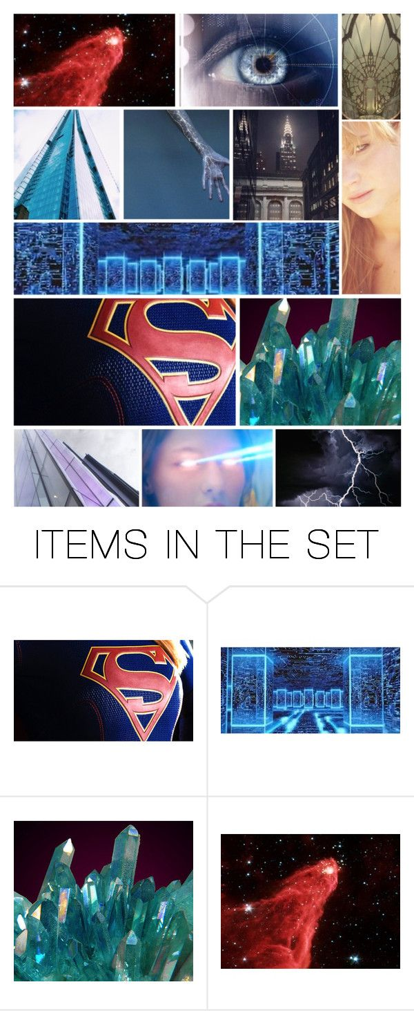 """""""DC Bombshells: Supergirl"""" by andreza239 ❤ liked on Polyvore featuring art"""