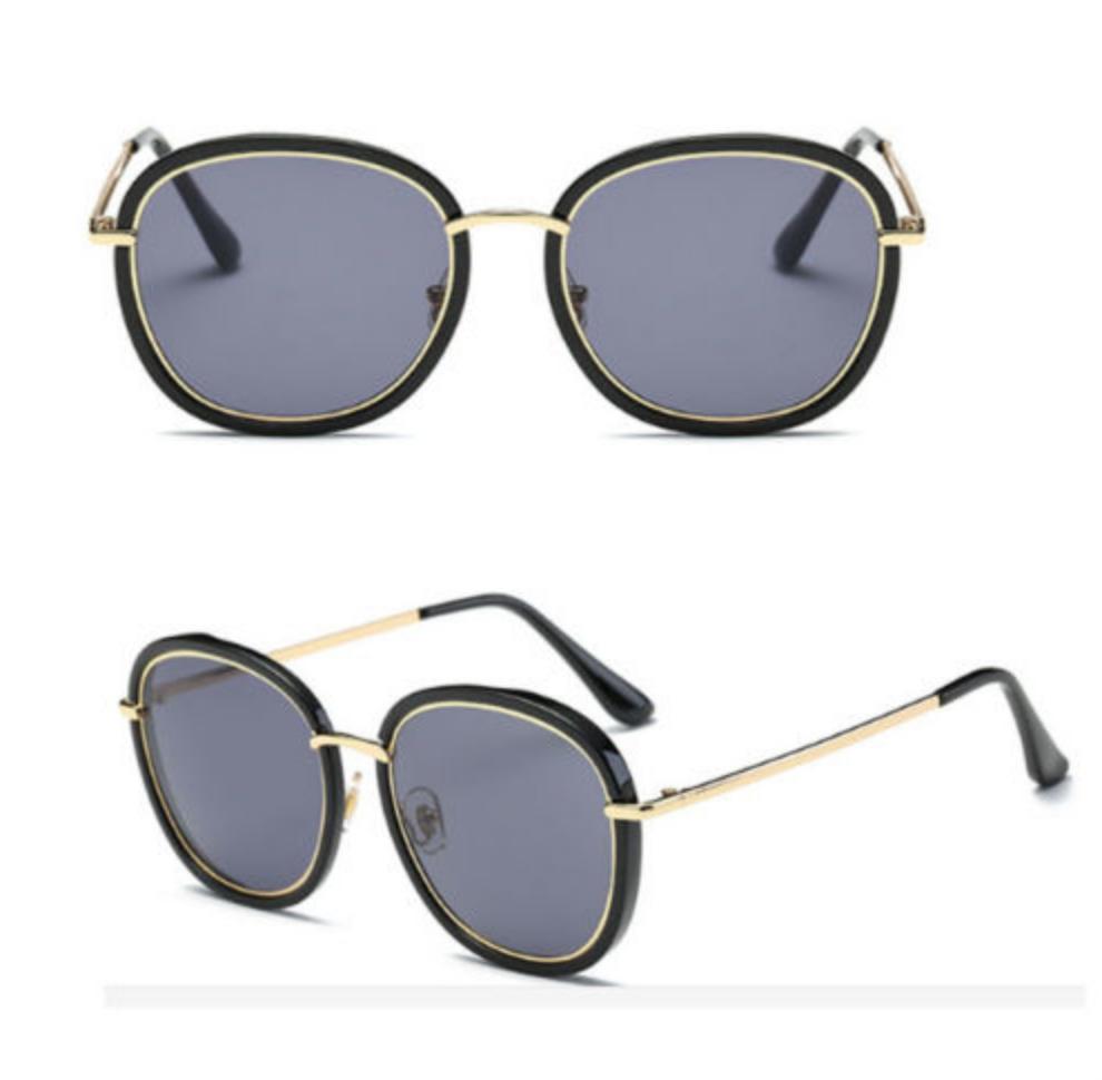 0b1e6578b0ecb FOR SALE  Vintage Retro Women s Rose Gold Cat Eye Designer Large Mirrored  Sunglasses UV400