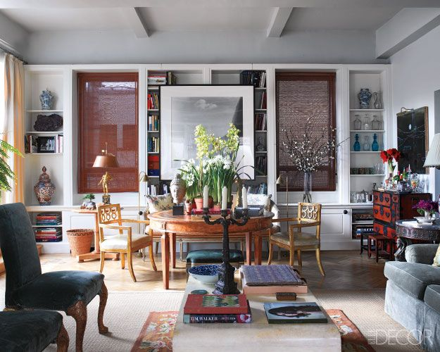 Bedrooms · The Living Room Of The Manhattan Apartment Of Designer Michael S.  Smith ...