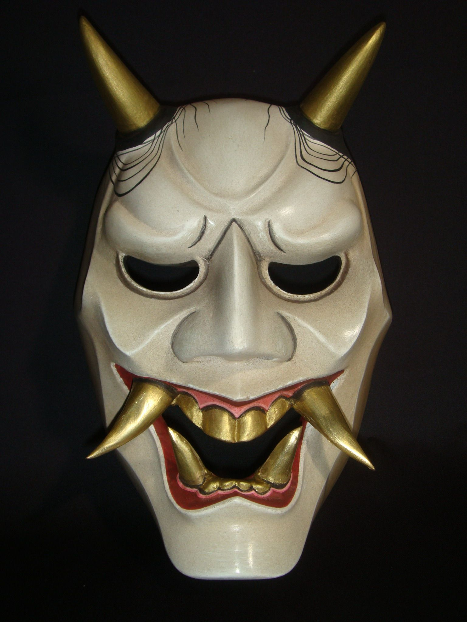 На аву картинки японские маски