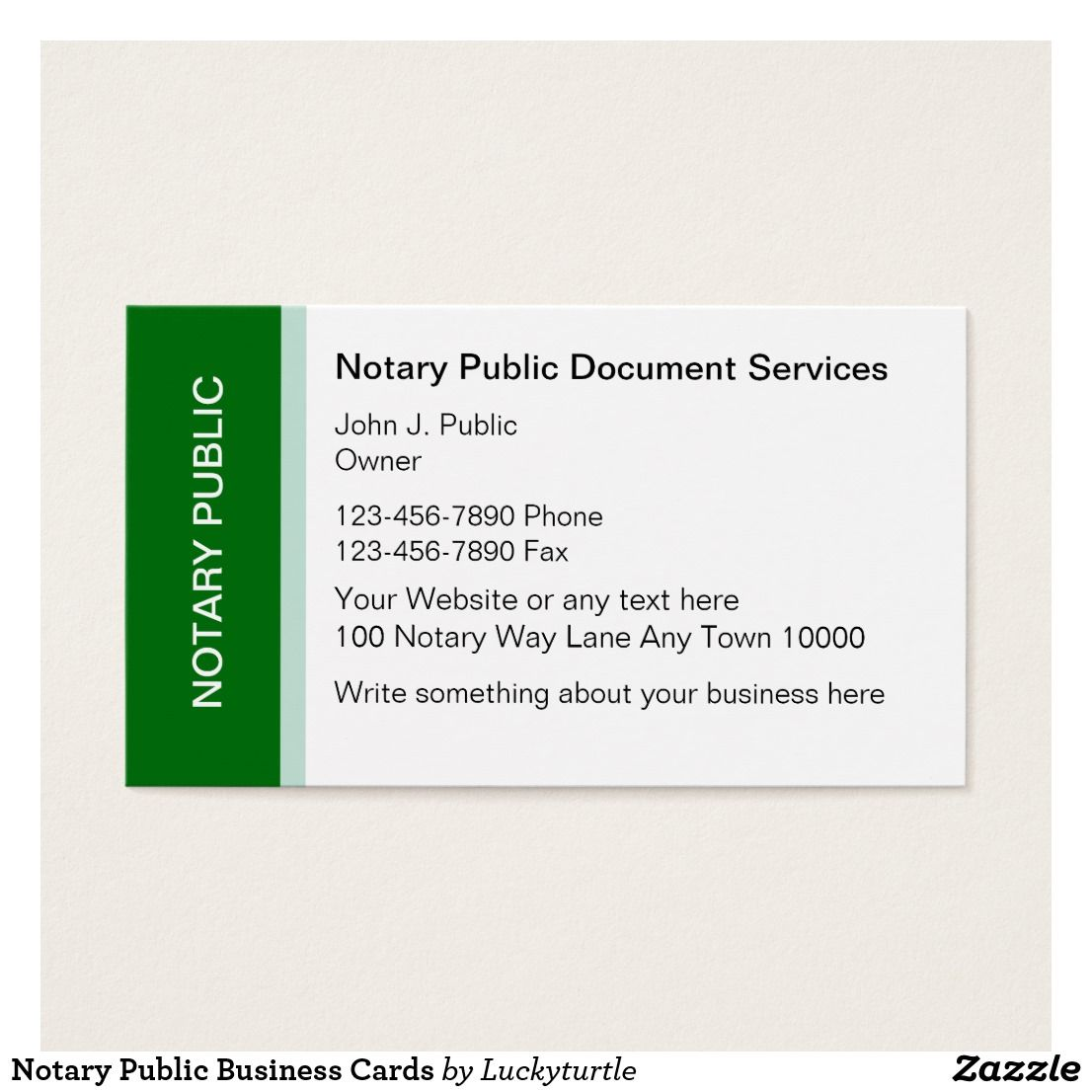 Notary Public Business Cards Zazzle Com Notary Public Business Notary Public Notary