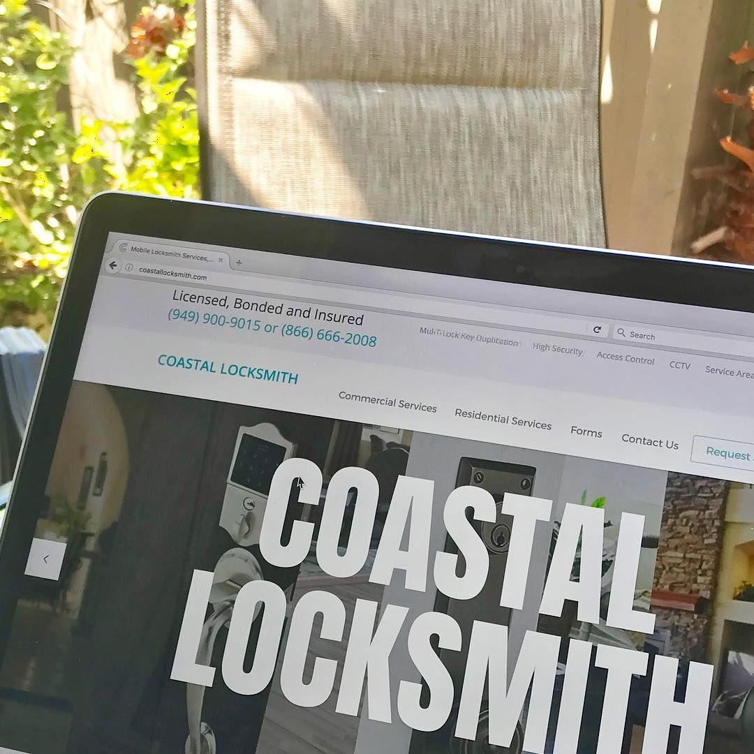 Have You Visited Our Website Lately Click The Link In The Bio To Learn More About Our Services Or To Request Service Co Coastal Locksmith Newport Coast