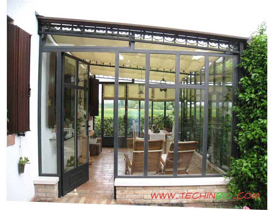 Http Www Techinbio Com Negozio Img Sito Verande Gelsomino Verande C05 Jpg Veranda Giardino D Inverno Portico Moderno