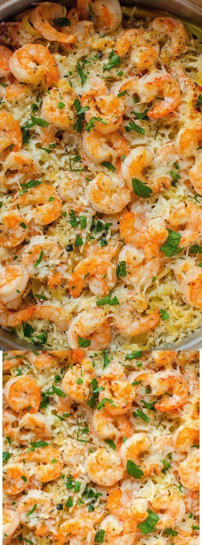 Diese My Garlic Parmesan Shrimp Scampi Pasta von My Incredible Recipes ist ein ....#diese