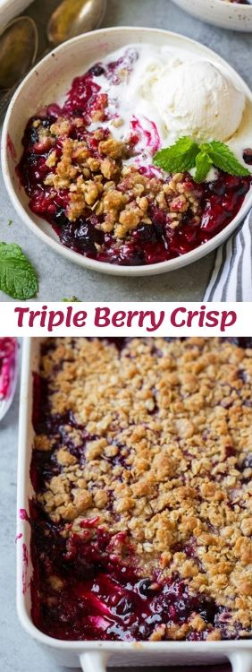 9 Summer Fruit Crisps Recipes You Can Try