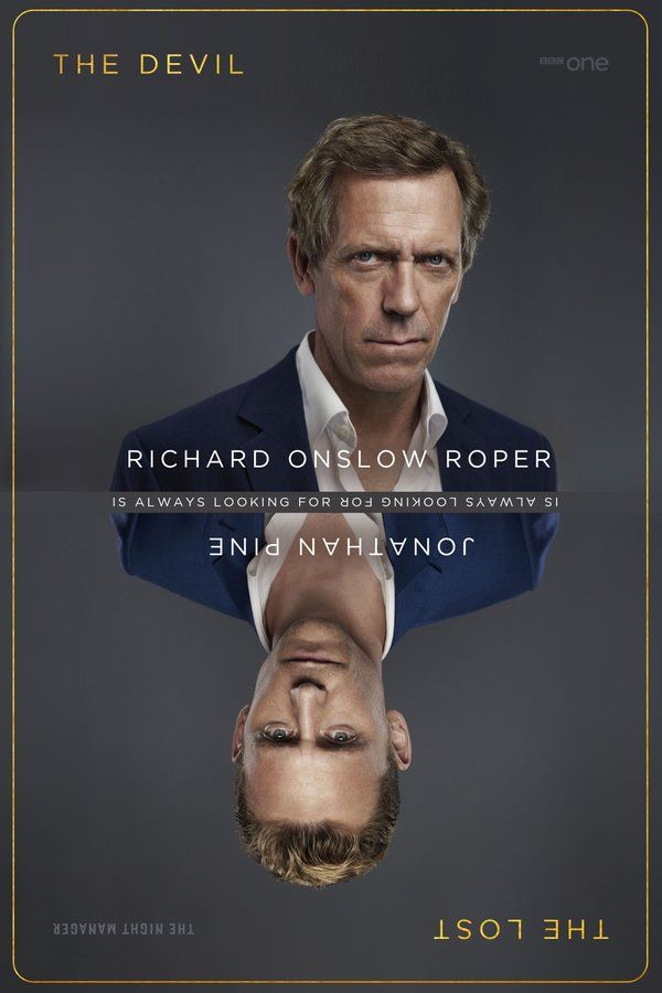 The Devil is always looking for the Lost. Hugh Laurie vs. Tom Hiddleston in #TheNightManager. Sunday. 9pm. @BBCOne