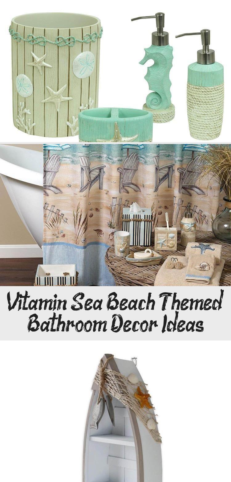 Vitamin Sea Beach Themed Bathroom Decor Ideas Bathroom