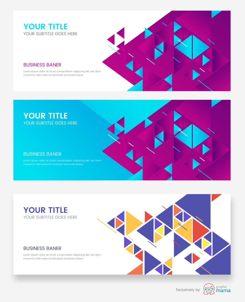 21 Free Banner Templates For Photoshop And Illustrator Free Banner Templates Banner Template Design Banner Design