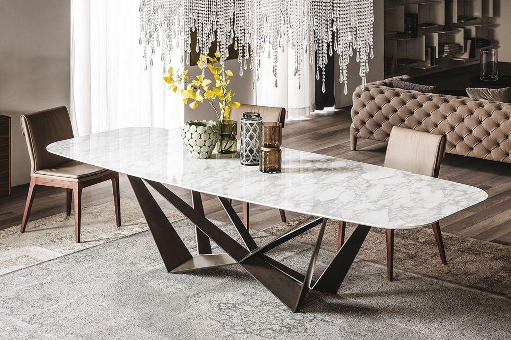 Breathtaking dining set from Cattelan Italia Skorpio