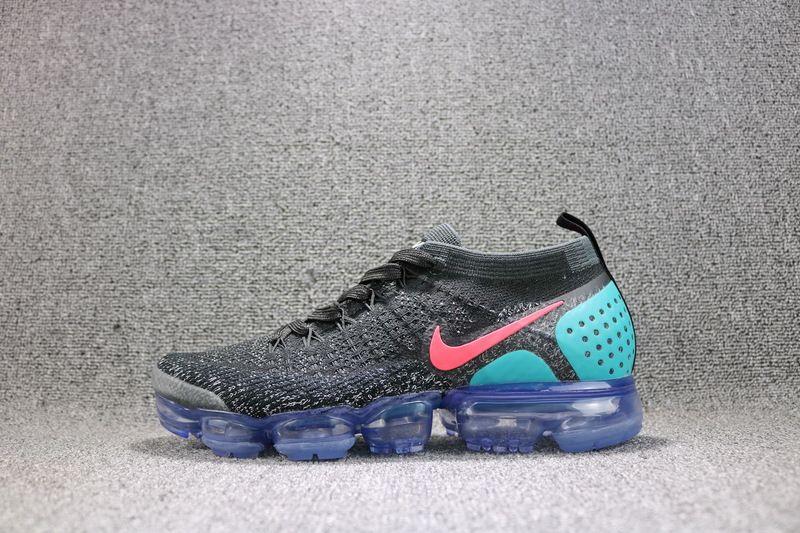 020e297acf3ae Nike Air VaporMax 2 Black Hot Punch 942842-003 BLACK HOT PUNCH-WHITE-DUSTY  CACTUS