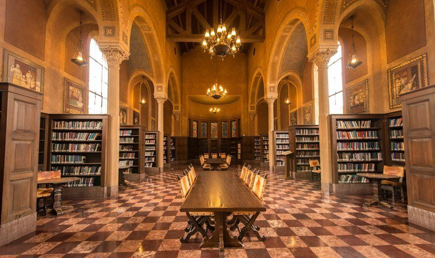 The Most Beautiful Libraries In Los Angeles Beautiful Library University Of Southern California Library
