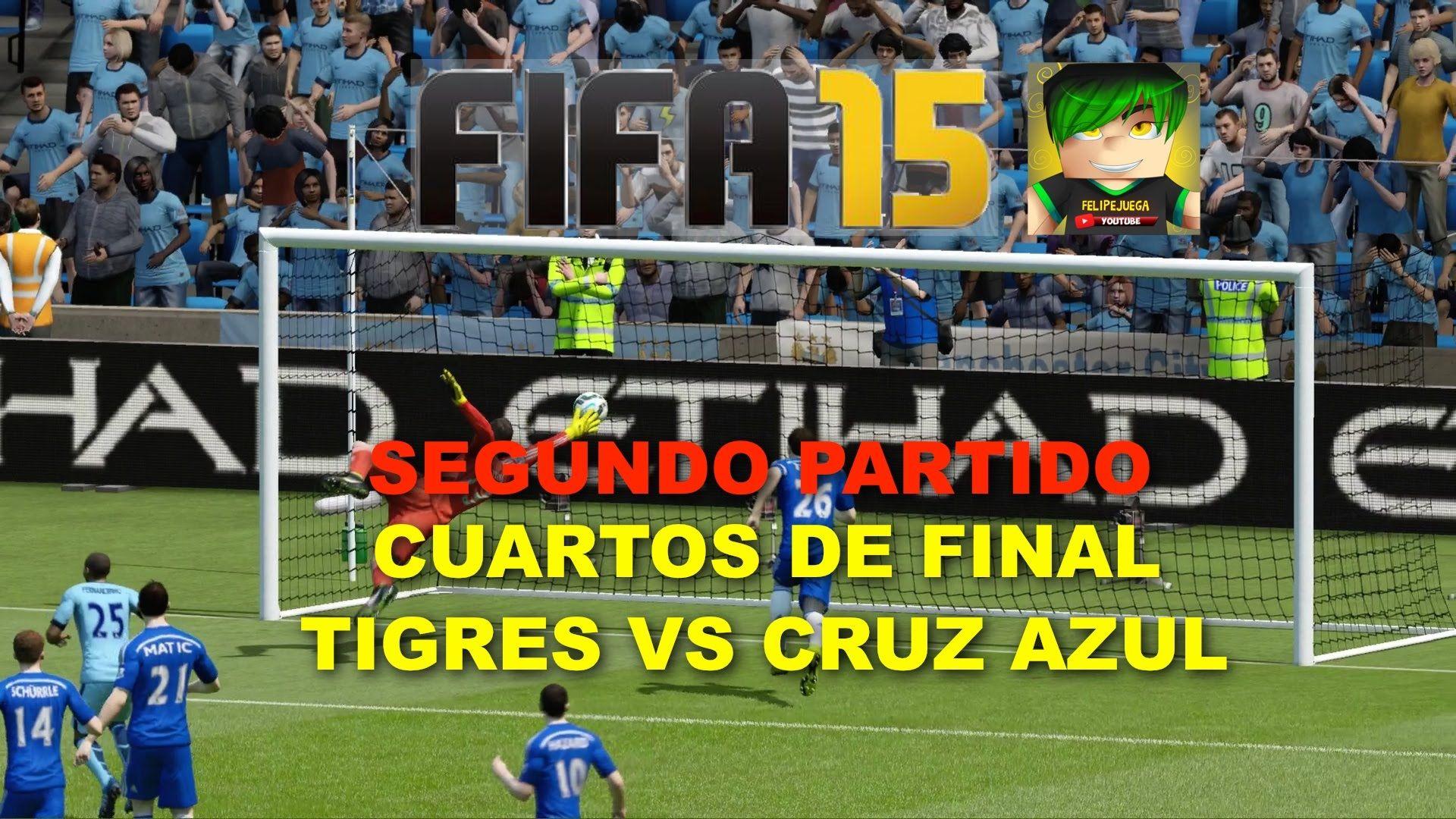 FIFA Copa Mexico Tigres vs Cruz Azul Cuartos de Final