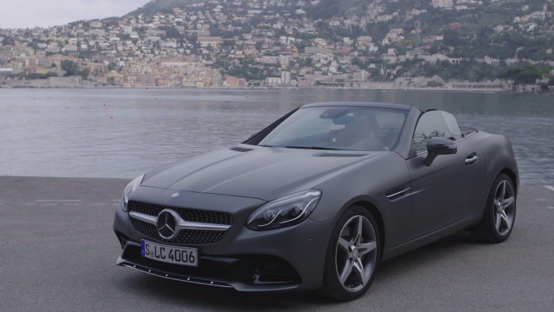 2016 Mercedes Benz Slc 300 Designo Cerussite Grey Magno Mercedes Benz New Mercedes Mercedes