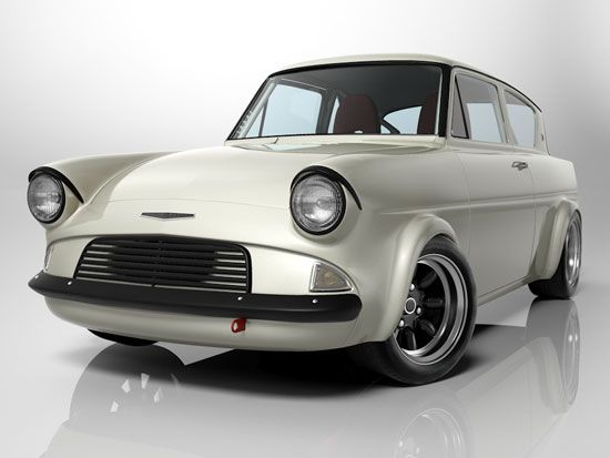 Studio Shot Of Ford Anglia With Images Ford Anglia Car Ford