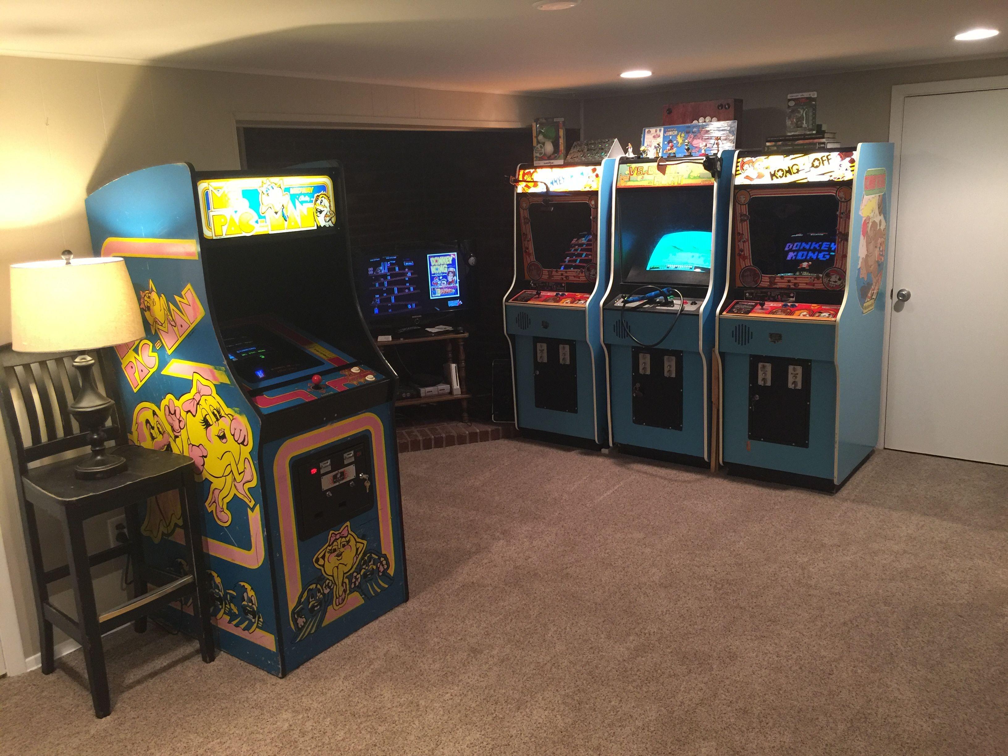 Brilliant Basement Arcade Machines Basement Arcade Machine