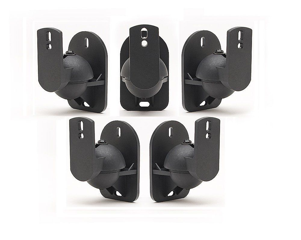 Details About Surround Sound Speaker Brackets Wall Mount For Sony Set Of 4 Black Brackets Speaker Wall Mounts Wall Mount Bracket Speaker Mounts