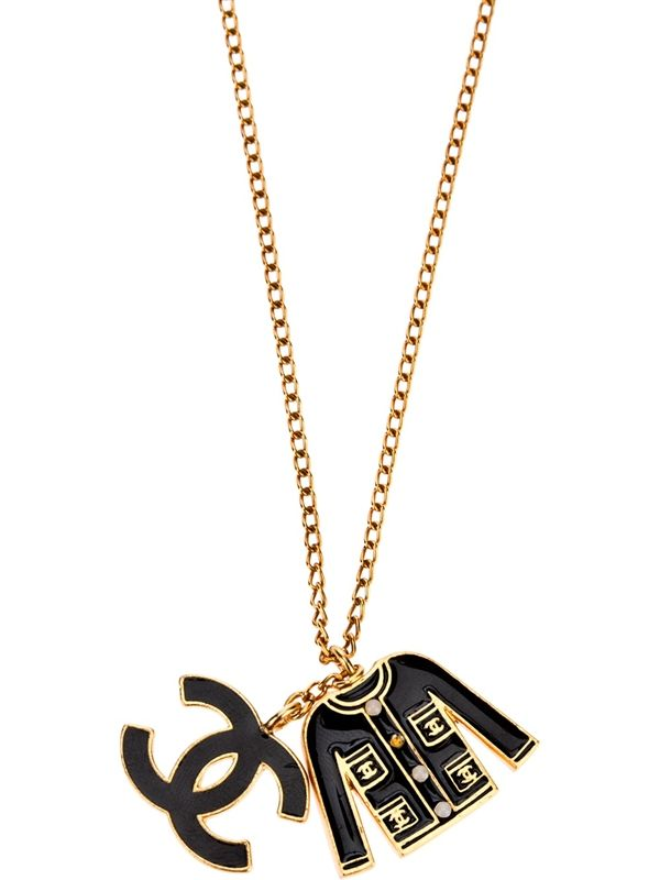 Chanel logo pendant necklace sold chanel my dear pinterest chanel logo pendant necklace sold aloadofball Image collections