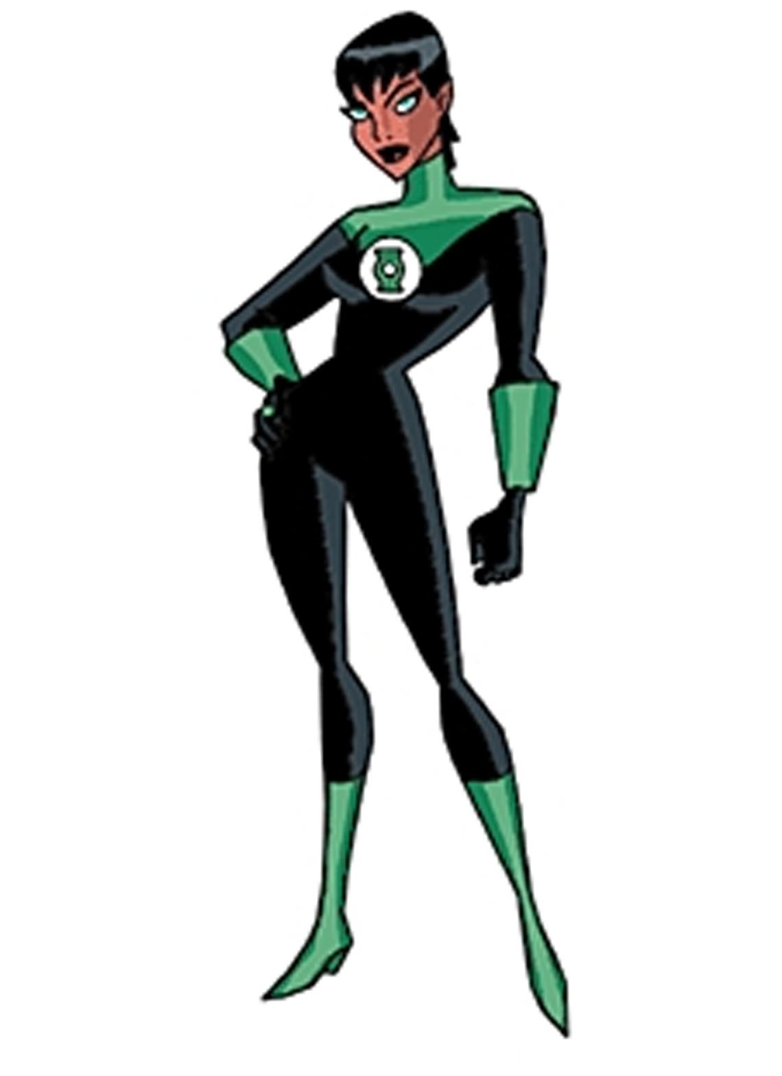 DC JLU Justice League Unlimited Katma Tui Supergirl Star Sapphire Aquaman Figure