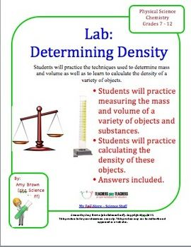 chemistry lab determining density chemistry learning and school. Black Bedroom Furniture Sets. Home Design Ideas