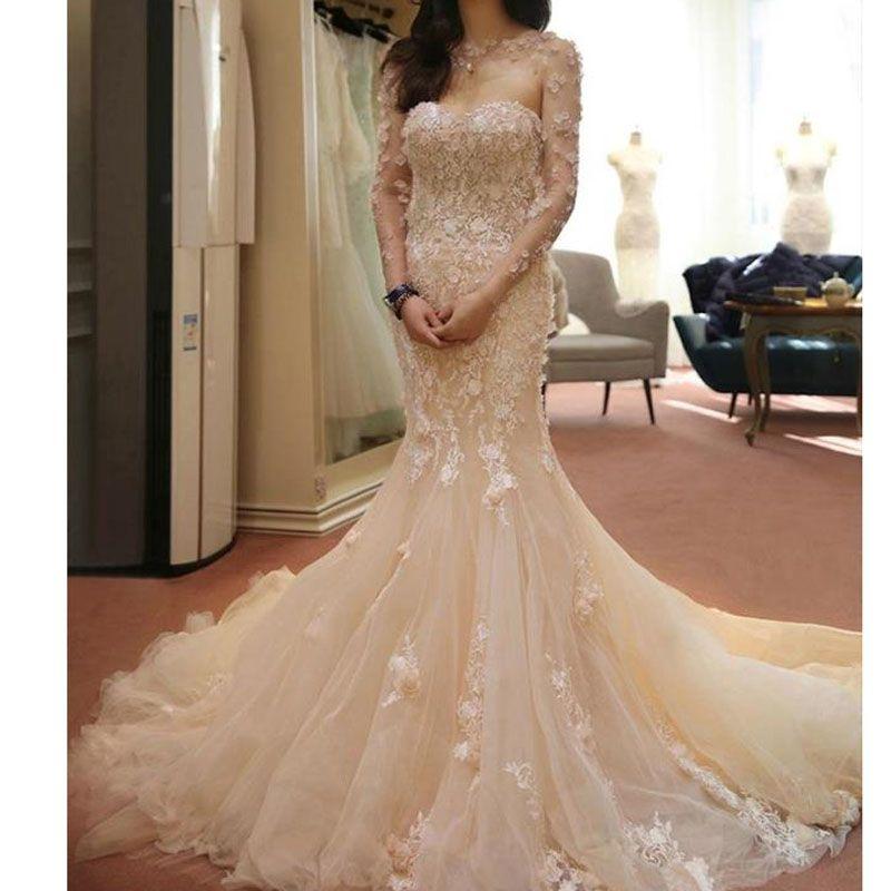 35 Fantastic Ideas Of Mermaid Wedding Dresses You Won T Be: Pin By ~ JoAnne ~ On ~ My Dream Bridal Dress ~